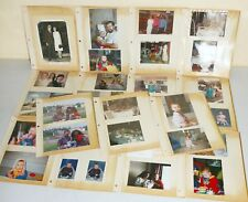 Lot PHOTOGRAPHS OLD Color BW Photos MIX Baby Pool Party Wedding Cars Family