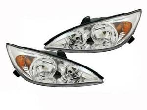 Headlights 02-04 for Toyota Camry Pair Left + Right