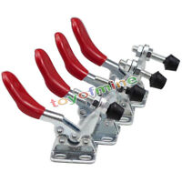 4pcs 60 lbs/27KG Toggle Clamp GH-201A Horizontal Hold Quick Hand Tool