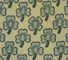 AUTHENTIC Hermes tie Paris 5005 EA White Clover - a four-leaf clover