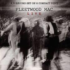 Fleetwood Mac LIVE 1980 Warner Bros Records 18 ESSENTIAL LIVE SONGS New 2 CD
