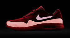 New!!! Nike Air Max 1 Ultra Moire Sz 8.5 Gym Red Team Red University 705297-600
