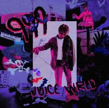 "Juice WRLD Art Music Rapper Poster HD Print Wall Decor 12"" 16"" 20"" 24"" Sizes"