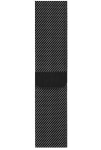 Genuine Apple Space Black Milanese Loop Band Bracelet 44mm 42mm Mint