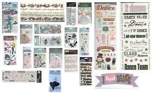 DANCE DANCER DANCING JAZZ TAP BALLET BALLROOM HIP HOP Jolee's Stickers