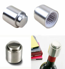 HOT Handy Stainless Steel Vacuum Wine Bottle Stopper Plug Bottle Cap Pump Sealer