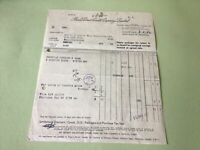 Prices patent Candle Company Battersea  London receipt Ref R32177