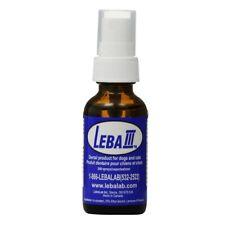 Lebalab Leba III 1oz Dental Spray Pet Canine Feline Dog Cat Tartar Control