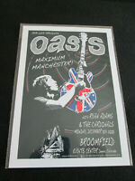 OASIS : MAXIMUM MANCHESTER 2008  : A4 GLOSSY REPO  POSTER