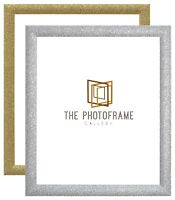 Glitter Sparkle Picture Poster Frames Dazzle Stardust Photo Frame Silver Gold A1
