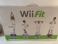 Nintendo Wii Fit Balance Board & Game Home Fitness, Brand New, 2008