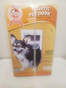Brand New Ideal Pet Products Plastic Pet Door Medium