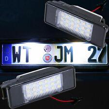 LED Kennzeichenbeleuchtung für Peugeot 1007 | 2008 | 3008 | 5008 | RCZ  [7217]