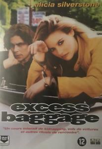 DVD - EXCESS BAGGAGE / SILVERSTONE, DEL TORO, WALKEN, COLUMBIA, NEUF