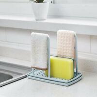 Dish Cloths Drain Rack Clean Sponge Holder Rag Storage Rack Kitchen Shelf Hot