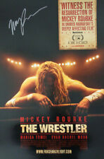AUTOGRAPHED - 'The Wrestler' (Mickey Rourke) Movie Poster + COA