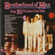 Brotherhood of Man - Sing Twenty Number One Hits ( CD 2011 ) NEW / SEALED
