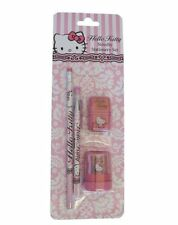 Hello Kitty stationery set-Rococo-règle, gomme, stylo, crayon, sharpener