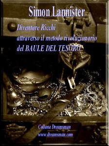 DIVENTARE RICCHI audio corso libro ebook BAULE TESORO motivazione pnl business