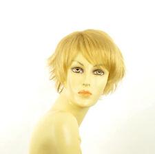 Perruque femme courte blond clair doré ROMANE LG26