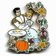 Disney Flower & Garden Cinderella Prince Charming Pin