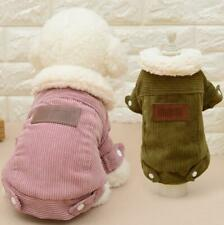 Dog Coat Jacket Pet Supplies Clothes Winter Apparel Clothing Puppy Costume Us