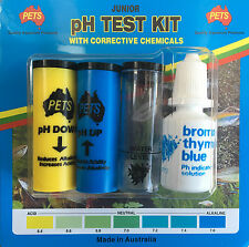 Aquarium pH Test Kit  with pH Up and pH Down- Made in Australia
