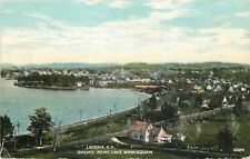 Laconia New Hampshire~Lake Winnisquam~Homes Near Dixons Point~1910 Postcard