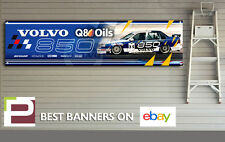 Volvo 850 Saloon BTTC Banner, Workshop, Garage, Track, Man Cave, Rickard Rydell