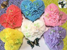 Wedding Favor,Valentine's Favor,Victorian Heart w/ Roses Soap,Women Gift