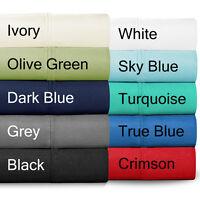 100% Egyptian Cotton Twin XL (Extra Long) Luxurious Sheet Set - 300 Thread Count