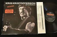 Kris Kristofferson and the Borderlords Repossessed Mercury DJ 830 406 1
