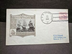 USS PEARY DD-226 Naval Cover 1935 Cachet MANILA SUNK WWII