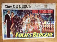 Paradies der Liebe (belg. Kinoplakat '57) - Eddie Constantine