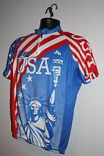 Bike wear Team USA bicycle jersey Size M