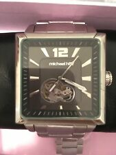 mens stainless steel michael hill watch