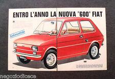 BB56 - Clipping-Ritaglio -1972- AUTONOTIZIE , NUOVA FIAT 600