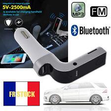 Bluetooth Transmetteur FM Sans Fil Kit Voiture USB Chargeur Radio Lecteur MP3