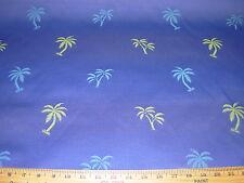"7.3m ~"" palmtrees"" Tropical ~ BORDADO TELA PARA TAPIZAR para menos"
