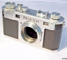 Nikon rangefinder S 35mm camera body only vintage
