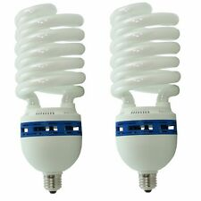 Kit 2x Lampada Studio Risparmio Energetico DayLight PRO 400Ws E27 Illuminatore
