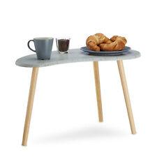 Mesa auxiliar gris pequeño salón mesa, riñones mesa retro escandinava 70er