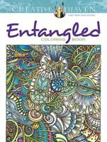 ENTANGLED ADULT COLORING BOOK - PORTER, ANGELA - NEW PAPERBACK BOOK