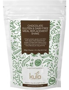 Chocolate Gluten Dairy Free Meal Replacement Diet Slim Shake - 300g 12 Servings