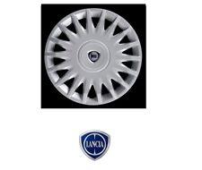 "Set 4 Copricerchi Coppe Ruota Originali Lancia Musa Ypsilon 843 312 cerchio 15"""
