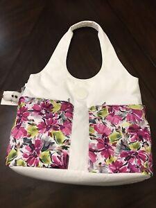 NWT $129 Kipling Astrid Floral Hobo Shoukder Bag