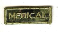 Obsolete Modern Canadian Army CADPAT MEDICAL Title