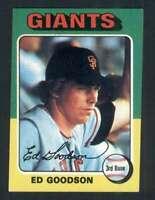 1975 Topps #322 Ed Goodson EXMT/EXMT+ Giants 67655