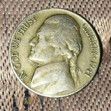 New Listing1941 Jefferson Nickel, double die world war ll coin with errors.