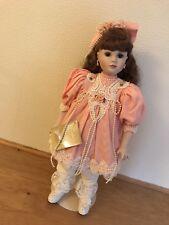 VINTAGE China Doll - Franklin Heirloom Dolls. Artist- Jan Doehring